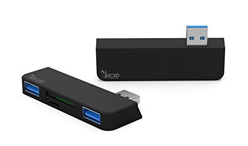 USB 3.0 Hub with SD/SDHC/MMC4.0, Micro SD/SDHC by Juiced Systems