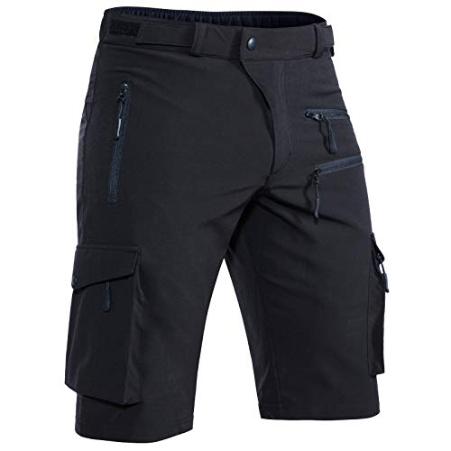 Shorts for Men,Casual Quick Dry Lightweight Tatical with Pockets Zipper Pockets Hiking Travel Camping 6222,Grey,29