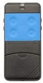 Afstandsbediening Cardin frequentie 433,92 MHz 4 kanalen S435, blauw