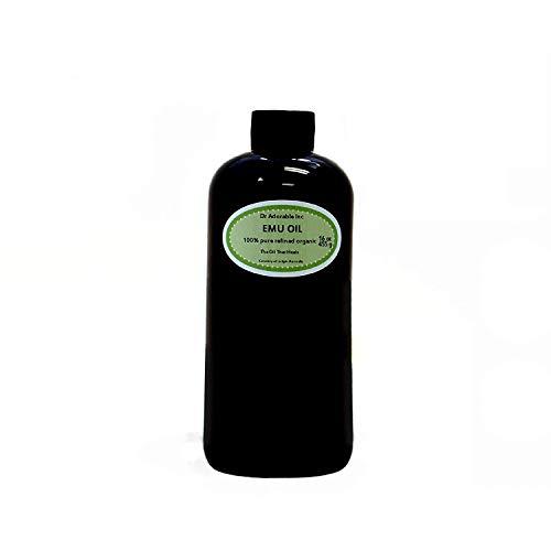 Australian Emu Oil by Dr. Adorable Triple Refined Organic 100% Pure 16 Oz
