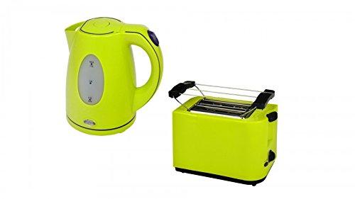 Efbe-Schott Frühstücksset WK 5010 + TO 5000 Wasserkocher und Toaster lemone