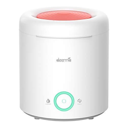 Deerma Humidificador ultrasónico Difusor de Aromas Xiaomi Eco-system de 2,5L 360º. Silencioso con vapor Frío Aromaterapia para Hogar, Oficinas, Spa, Bebés