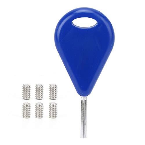 Accesorios de Tabla de Surf de fácil reemplazo para Aletas FCS(Blue)