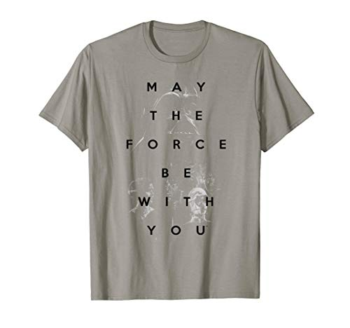Star Wars May the Force Be With You Retro Graphic T-Shirt