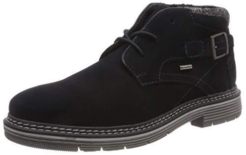bugatti Herren 311384321500 Klassische Stiefel, Blau, 45 EU