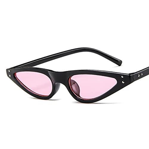 Sunglasses Gafas de Sol de Moda Gafas De Sol De Moda Gafas De Sol Pequeñas Ojo De Gato para Mujer Gafas De Lujo Gafas De