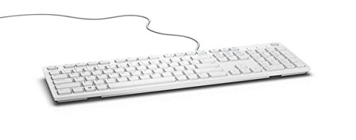 Dell Multimedia Keyboard-KB216 - UK (QWERTY) - White *Same as 580-ADHT*