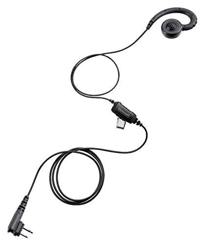 Swivel Earpiece w/in-Line Mic/PTT for Motorola Radios CLS 1410 CLS 1110 DTR410 DTR550 DTR600 DTR700 RDU4100 RDU4160D RMU2040 RMU2080D RMU2080 DLR1020 VL50 CLS1410 CLS1110, Replace HKLN4604 Headset