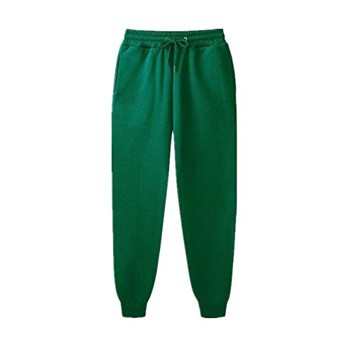 Men Color Pants Men's Male Sweatpants Green