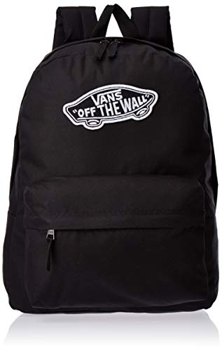 Vans Realm Backpack Zaino Casual, 42 cm, 22 liters, Nero (New Black)