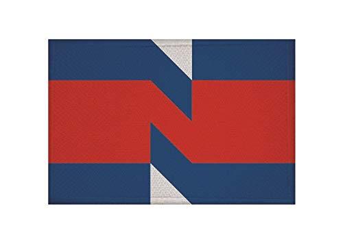 U24 Patch Nieuwegein (Nederland) Vlag Vlag Opstrijker Patch 9 x 6 cm