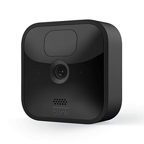 Blink Outdoor, Videocamera di sicurezza in HD, senza fili, resistente alle intemperie, batteria con 2 anni di autonomia, rilevazione di movimento, Videocamera aggiuntiva, Sync Module 2 necessario