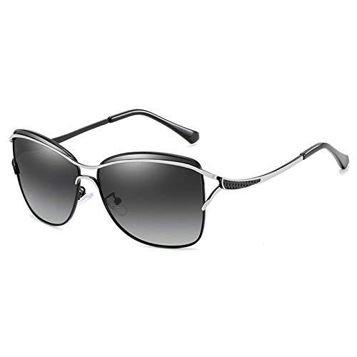 WWDKF Gafas De Sol, Gafas De Sol De Montura Grande Clásicas De Moda para Mujer, Gafas De Conducción, Antirreflejos, Protección UV400, Fáciles De Limpiar,E