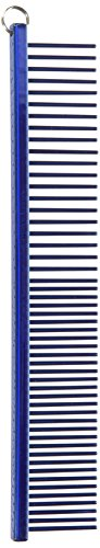 Resco US-Made Combination Comb for Dogs and Cats, Blue