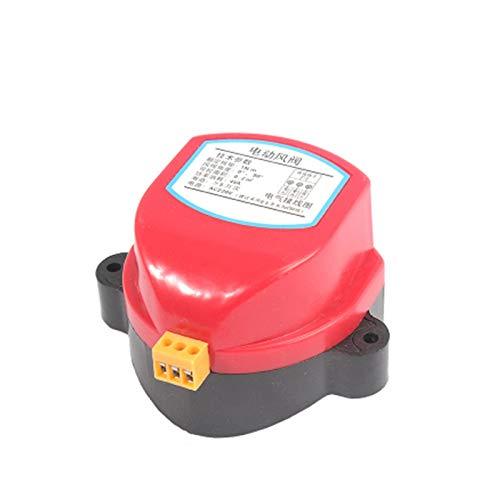 YUNJINGCHENMAN Accionador 220V para la válvula de Amortiguador de Aire 12V / 24V Conducto eléctrico de Aire eléctrico Damper motorizado Conductor de válvula de Viento 1nm para tubería de ventilación