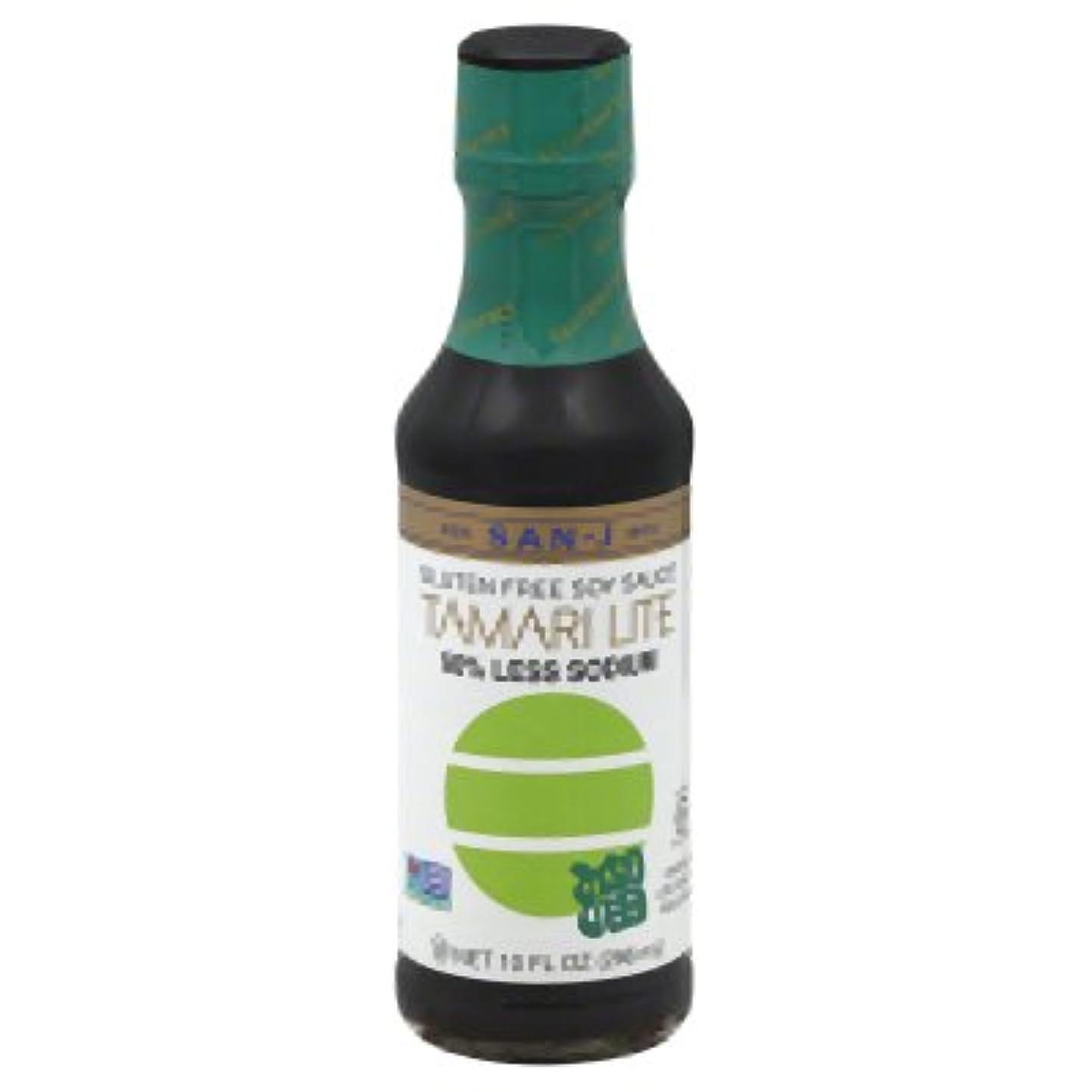 San J Gluten Free Tamari Lite Soy Sauce, 10 Fluid Ounce - 6 per case. fjonsqbfmya8