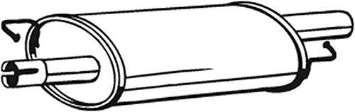 Mittelschalldämpfer (1220-14867) Dämpfer Abgasanlage Auspufftopf
