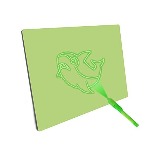 YSJJLRV Tableta de Escritura Tablero de Dibujo Luminoso Draw con TABLO DE SKETETHPAD de diversión Ligera Juguete Fluorescente y desarrollar Light Up Toy Big Pack 1PEN / Set (Color : 1)