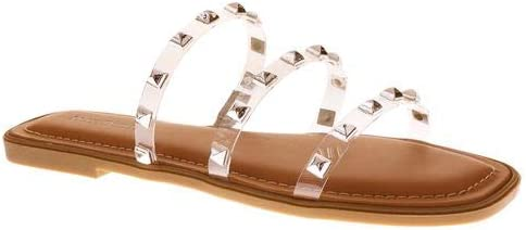 Pierre Dumas Women's Empress-6 Slide Studded Open Toe Sandal