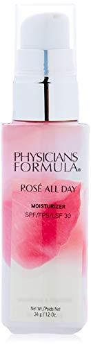 Physicians Formula - Rosé All Day Moisturizer SPF 30 - Crema Facial Hidratante de Día con Protector Solar SPF 30 - Ilumina, Prepara e Hidrata la Piel - Goji y Ciruela de Kakadu - Fórmula Antioxidante
