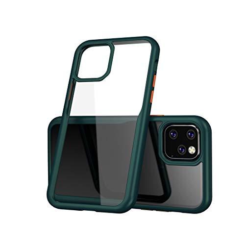 fire bird Conciso, Conveniente, Duradero For iPhone Pro 11 a Prueba de Golpes acrílico Cobertura Completa Funda Protectora (Negro), Simple y Compacto (Color : Green)