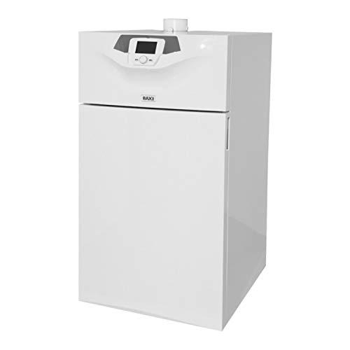 Caldera a gas de condensación, 65 kW, para instalaciones de calefacción por agua caliente, con panel de control digital, serie Power HT Plus 70F, 68 x 60 x 90,4 centímetros (Referencia: 7612423)