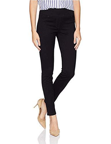 LEE Women's Sculpting Slim Fit Skinny Leg Pull On Jean, 6, black