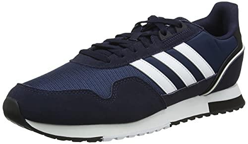 adidas 8K 2020, Zapatillas de Running Hombre, Tinley/FTWBLA/AZMATR, 45 1/3 EU