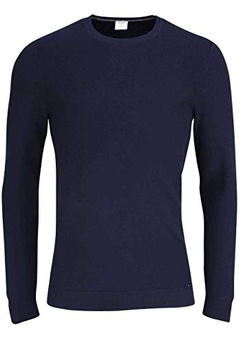 OLYMP Herren Pullover Level Five Strick Body fit Marine - L