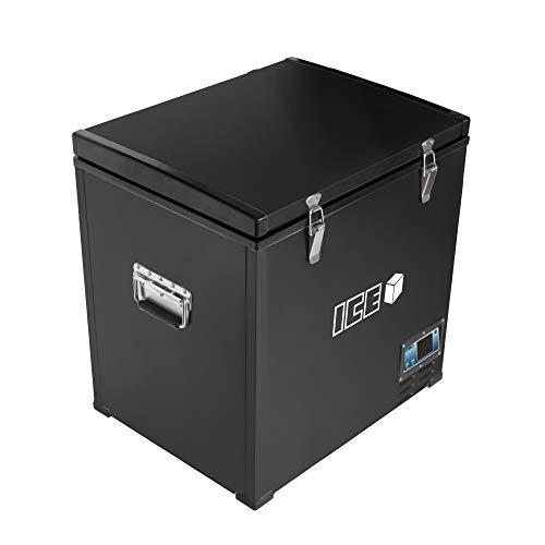 ICE Cube 75 Liter tragbarer Autokühlschrank Gefrierschrank Kühlbox Gleichstrom 12V 24V Wechselstrom 230V