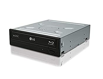 LG Electronics 14x SATA Blu-ray Internal Rewriter without Software Black  WH14NS40