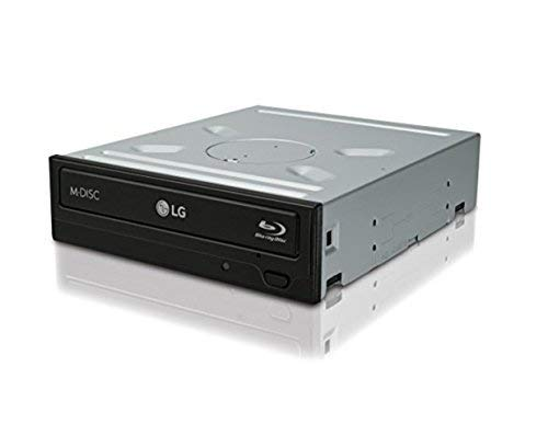 LG Electronics (WH14NS40) - Grabador interno de Blu-ray (14 unidades, SATA, sin software), color negro