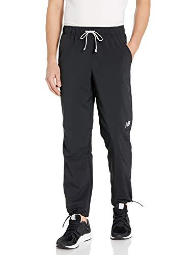 New Balance Men's Tenacity Sideline Pant, Black, XL
