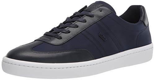 Hugo Boss mens Nylon Low Top Sneaker, Night Watch, 12 US