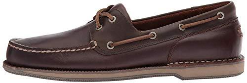 Rockport Men's Perth Shoe, Beeswax/Dark Brown, 11 N US