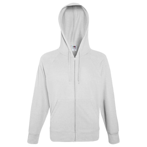 Fruit of the Loom - Kapuzen-Sweatshirt 'Hooded Sweat' S,White