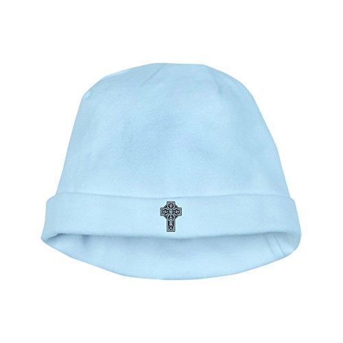 Royal Lion Baby Hat Celtic Cross - Sky Blue
