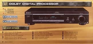 Sony sdp-ep9es Dolby Digital Processor