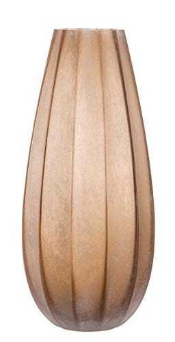 Leonardo Ferrara Vase 35cm, Braun