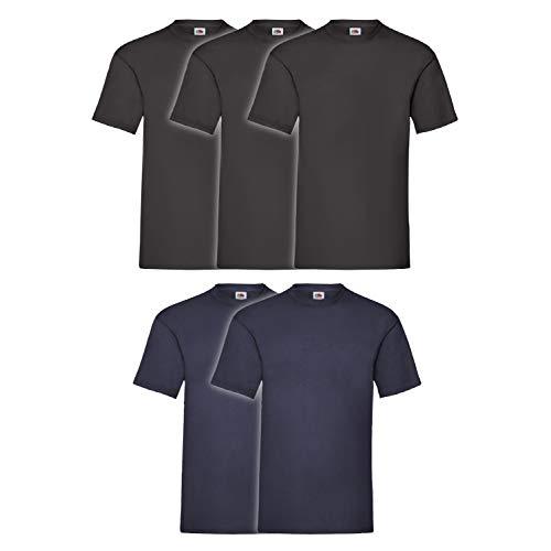 Coats&Coats - Sweat-shirt - Homme 3 Pezzi Nero 2 Blu Navy