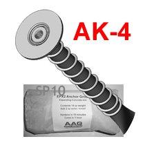 BoltHold Asphalt Anchors and Grout kit AK-4