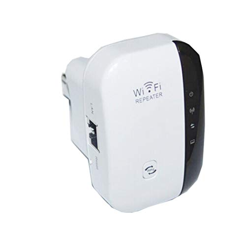 Jiatwhfhsa 2019 Nuevo 300M Wireless-N WiFi Repeater 2.4G Ap Router Signal Booster Extender Amplifier (Multicolor, US Plug)
