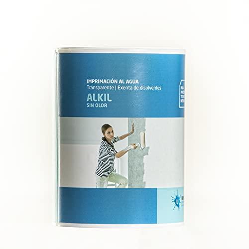Ursan - Alkil | Imprimacion al Agua Sellante e Incolora para Imprimación Paredes o Techos Además de Otras Aplicaciones - 750 Ml