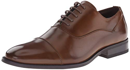 Unlisted by Kenneth Cole Men's Half Time, Cognac, 10.5 M US