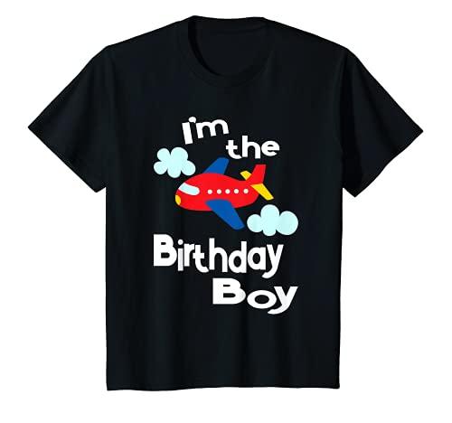 Nios Disfraz de fiesta de cumpleaos de avin - I'm The Birthday Boy Camiseta
