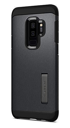 Spigen Cover Samsung Galaxy S9 Plus Tough Armor Compatibile con Samsung S9 Plus Cover Custodia - Graphite Gray