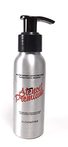 ALOE Stencil Premium Abzugsflüssigkeit TATTOO Stempel 100ml - INKgrafiX® Deutschland - PROFI STUDIO IG03614 Matritzenflüssigkeit