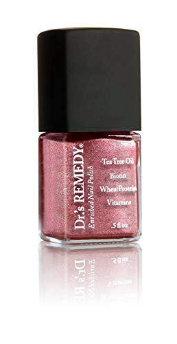 Dr.'s REMEDY Enriched Nail Polish, REFLECTIVE Rose, 0.5 fl. oz
