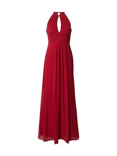 STAR NIGHT Damen Abendkleid Karminrot 40