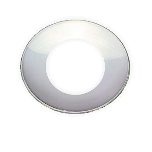 Tropfenfänger für Taufkerzen und Kommunionkerzen innen 3 cm aus Glas klar
